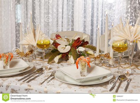 elegant dinner tables pics elegant dinner table 1 royalty free stock photography