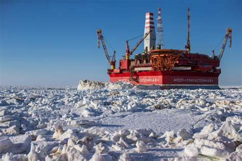 Russia's Arctic oil rig reaches 4 million barrels – Eye on ...