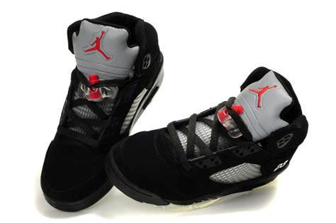 real air shoes 5 black grey aj395 80 00