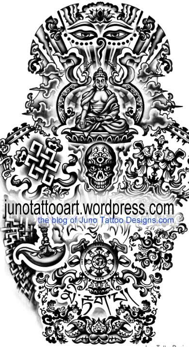 tibetan tattoos sacred meanings and designs tibetan buddhist tattoos meaning designer