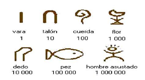 imagenes numeros egipcios 5o grado n 218 meros egipcios