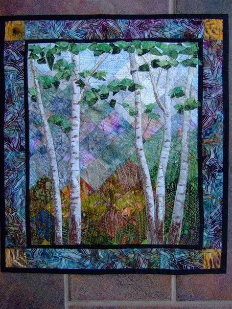 Watts Quilting by Birch Trees Glass