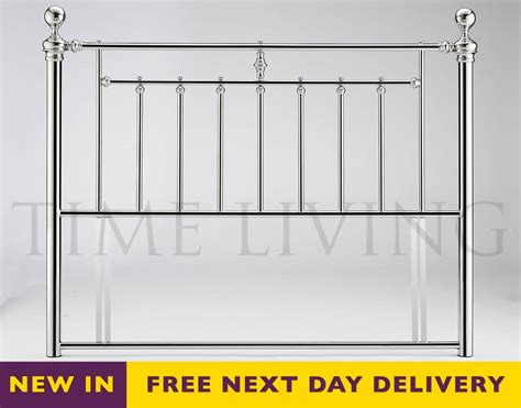 Chrome Headboard by Cheapest 4ft6 Chrome Plated Metal