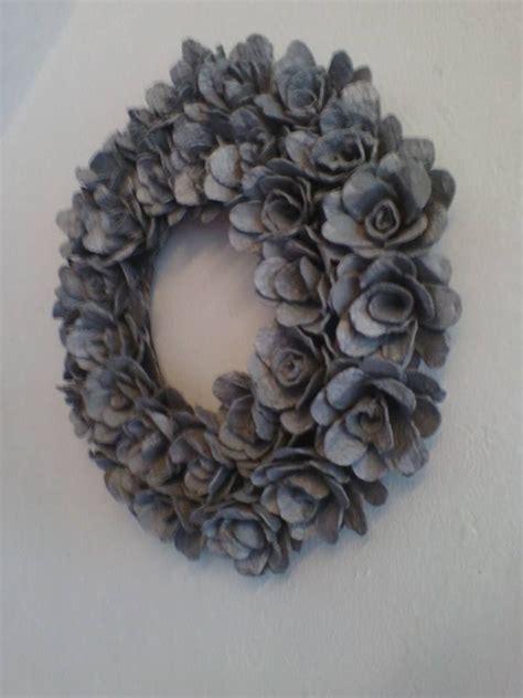 krans rozen eierdozen recycled en gemakkelijk te