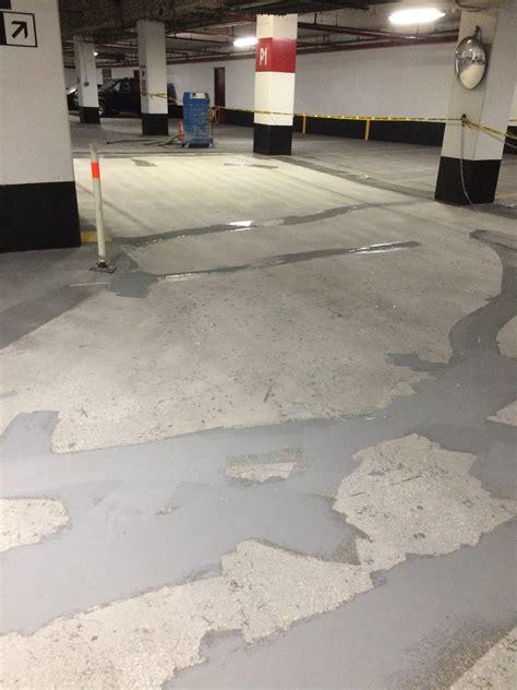 parking garage floor toronto exit r waterproof