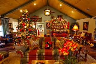 Home Decorated Christmas Trees Show Me A Country French Home Dressed For Christmas Show