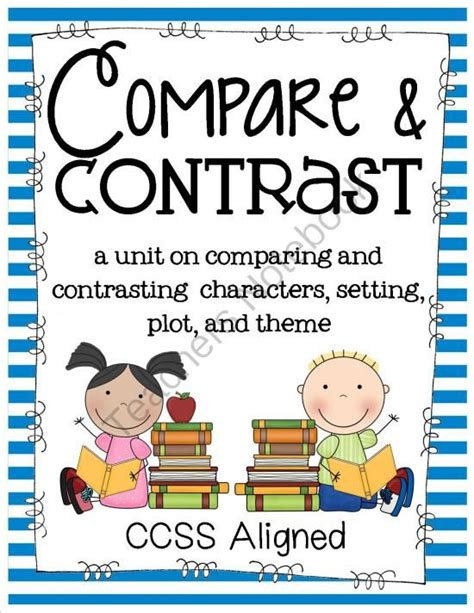 How To Compare And Contrast Two Characters In An Essay by 1000 Images About Comparing Characters On