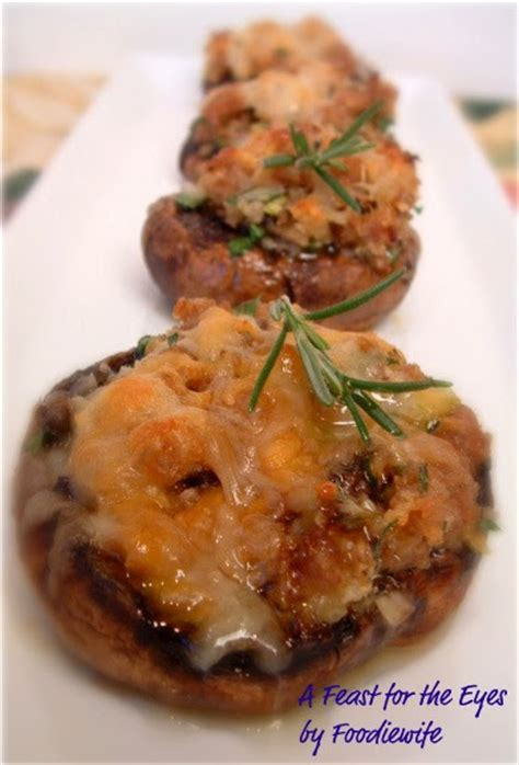 a feast for the eyes scallops gratin ina garten style a feast for the eyes ina garten s sausage stuffed mushrooms