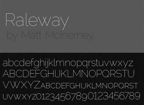 dafont raleway 30 free thin fonts for designers skytechgeek