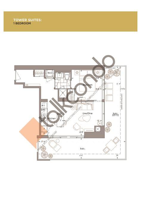 yc condo floor plans yc condo toronto floor plans meze