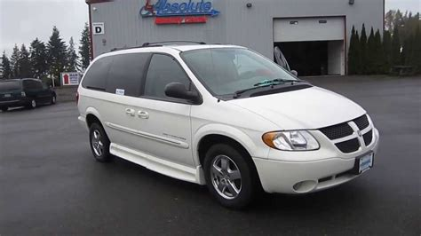 2003 dodge grand caravan white stock 123422 walk around youtube