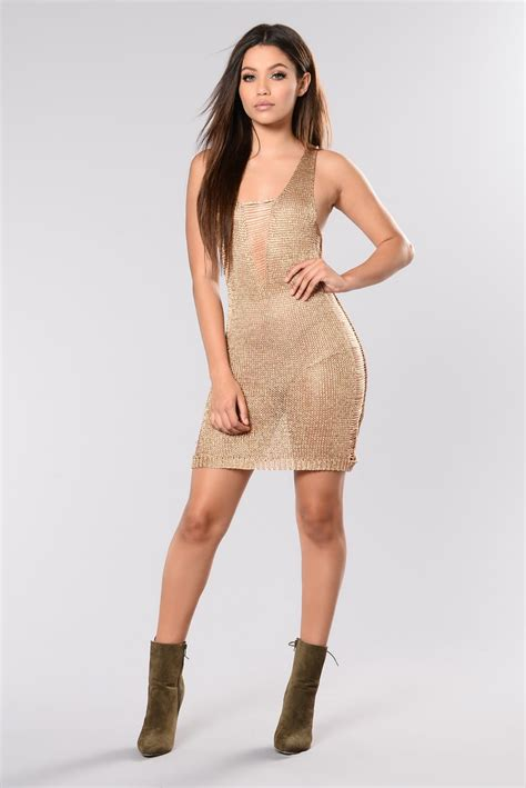 Kalung Fashion Rosegold 1 better things dress gold