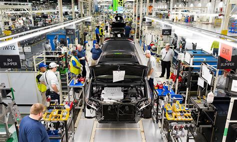 toyota care plan at lexus u s plant cars get caressed