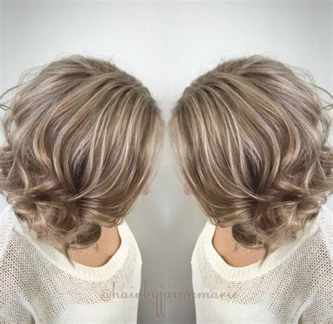 platinum and ash brown hair ash blonde bob highlights and lowlights platinum blonde
