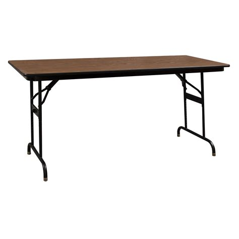 Adjustable Height Tables by Ki Heritage Adjustable Height Used Folding Table 30 215 72