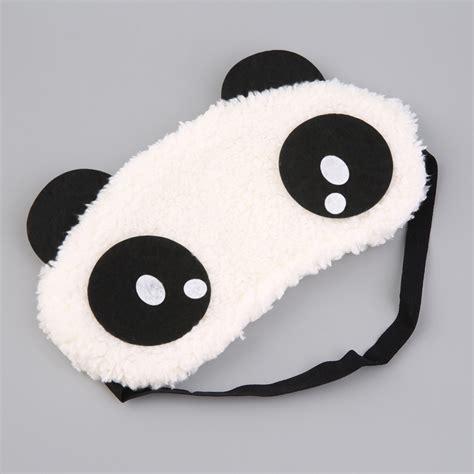 Makser Mata Eye Mask panda sleeping eye mask blindfold shade traveling sleep eye aid xl ebay