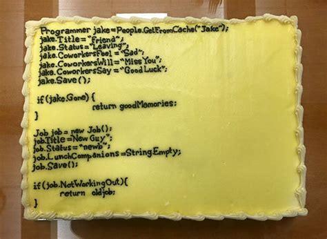 B00396nex1 Atasan Birthday Next 6 20 hilarious goodbye cakes got on their last day at