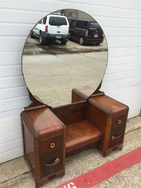 antique vanity dresser round mirror antique vanity with round mirror antique furniture