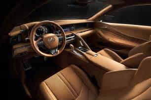 detroit 2016 lexus lc 500 luxury coupe revealed at naias