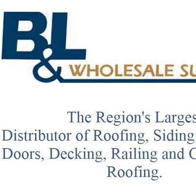 b and p l supply b l wholesale supply bandlwholesale twitter