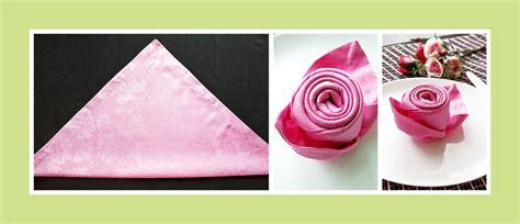 servietten falten servietten falten anleitung