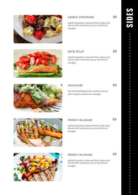Design Templates Menu Templates Wedding Menu Food Bar Food Menu Template