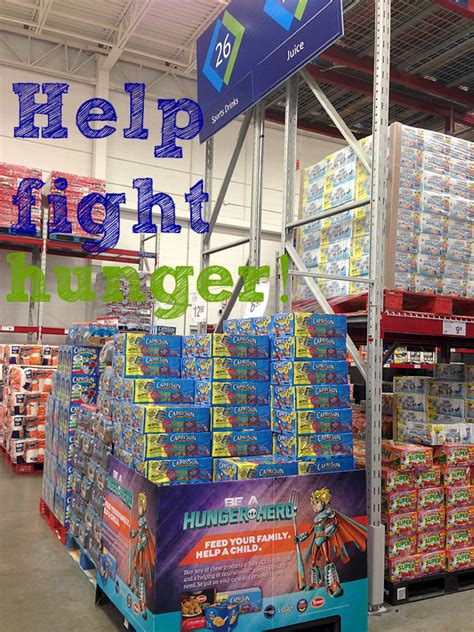 Good Sam Club Monthly Giveaway - be a hunger hero at sam s club