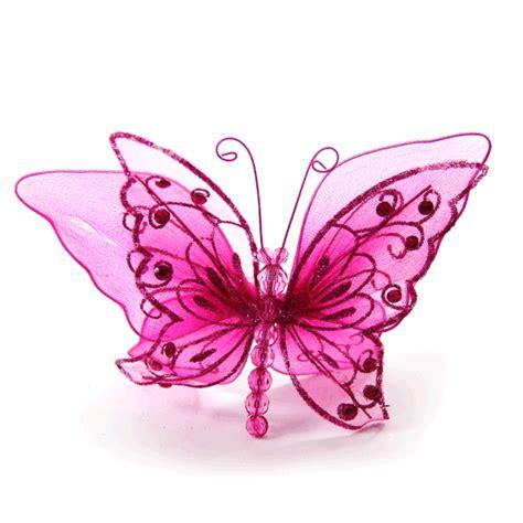 pink butterfly craft glitter butterflies pink