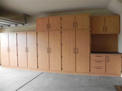 how to build a storage cabinet wood free garage storage cabinet plans woodworking projects