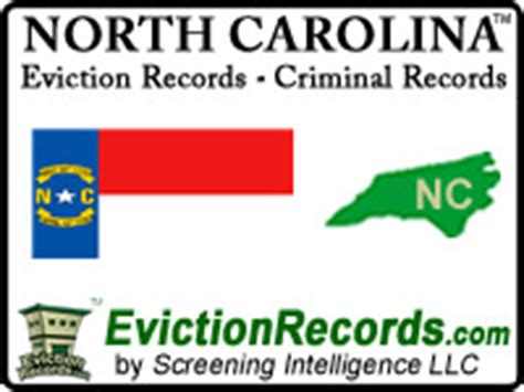 Eviction Criminal Record Carolina Criminal Records Nc Tenant Eviction Search