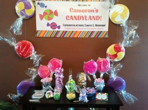 candyland themed baby shower candyland themed baby shower miscellaneous