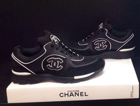 chanel mens trainer sneakers shoes chanel trainers black wheretoget