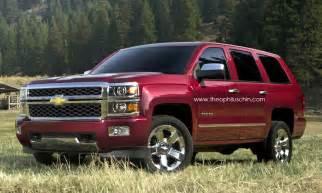 next 2014 chevrolet tahoe rendering autoevolution