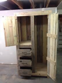 cabinet diy diy pallet cabinet for storage 101 pallets