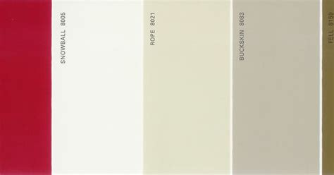 martha stewart paint 5 color palette card 37 available from thelandofcolor 9 99 s