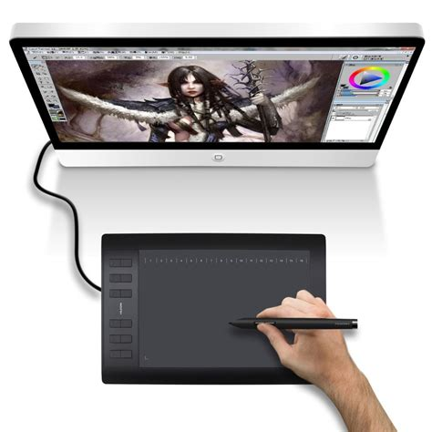 Drawing Tablet by Aliexpress Buy Promotion Huion 1060plus 10 Inch