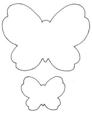 butterfly printable cutouts clipart best