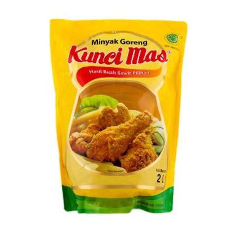 Minyak Goreng Kunci 1 Liter jual rekomendasi seller kunci minyak goreng pouch