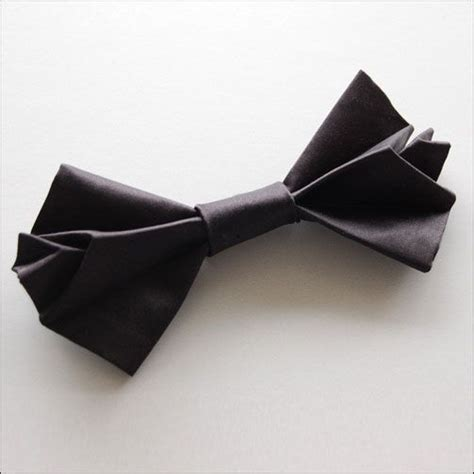 Origami Knot - origami butterfly silk bow tie mono