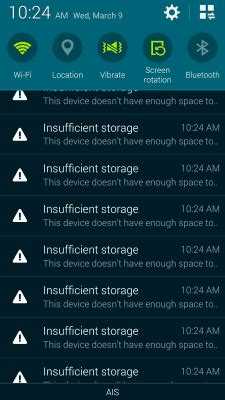 insufficient storage android fix โหลดแอพบน play store แล ว แต ต ดต งไม ได ฟ องเน อท ไม พอ ทำอย างไรด