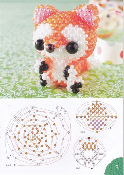 3d bead animals patterns free 183 best 3d beaded dolls images on beaded