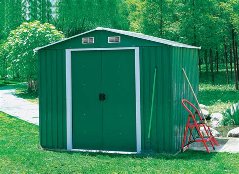Garden Shed Metal by Charles Bentley 8ft X 10ft Metal Garden Shed Buydirect4u