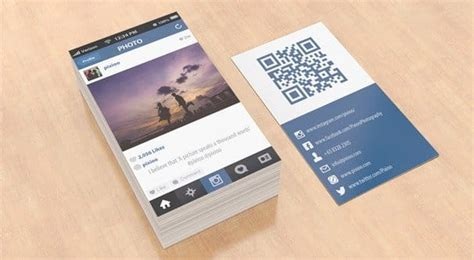 instagram card template why every business should an instagram profile