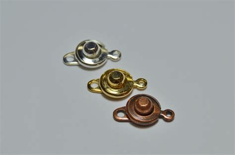 """""""Snap"""" Clasps   Base Metal Clasps   for necklaces and bracelets."""
