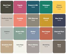 behr 2016 color trends see all of the new palettes