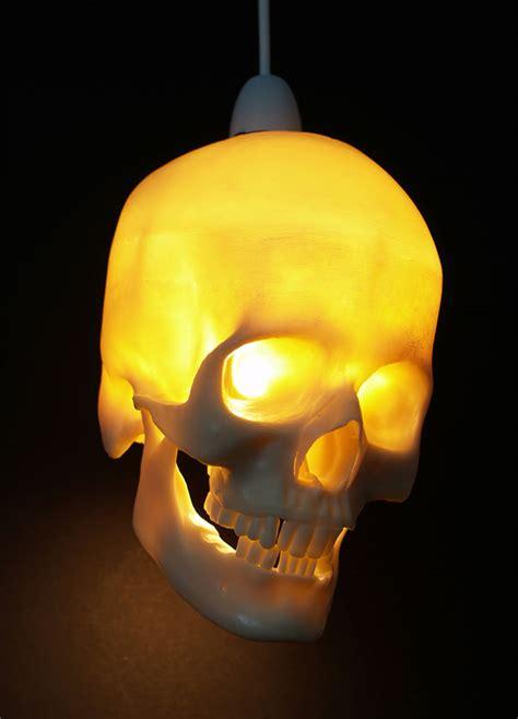 Skull Lights by Skull Hanging Light Fixture Lights