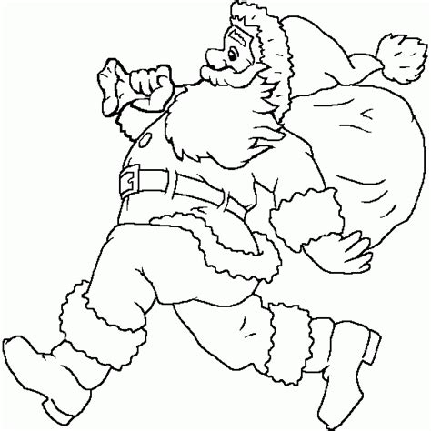 coloring pictures of father christmas father christmas coloring pages