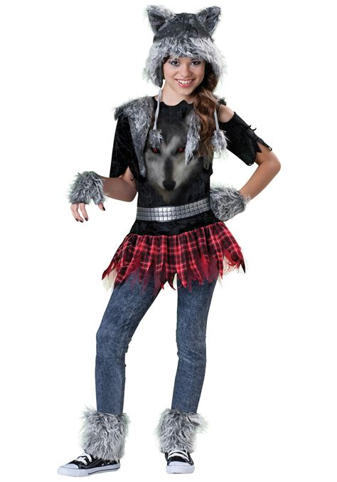 wolf costume for tween costume