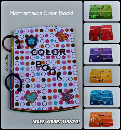 color book for toddler teach your toddler colors color book diy