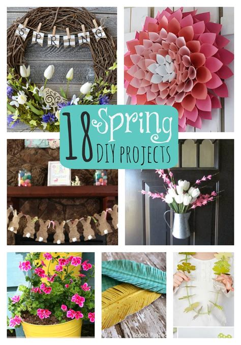 diy spring projects great ideas 18 spring diy projects